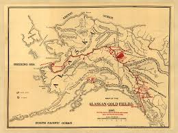 A Map Of Alaska by Map Of The Alaskan Gold Fields World Digital Library