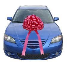 big pink car bows arts crafts sewing