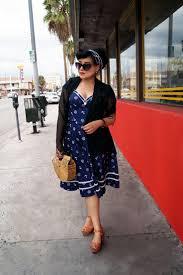 Nautical Theme Dress - a nautical pinup dress