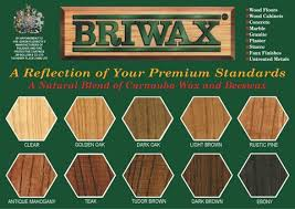 trg products briwax colors
