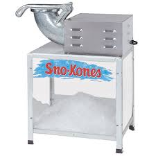 snow cone rental sno cone machine