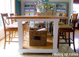 Craft Room Tables - raising up rubies blog a cute place to make stuff