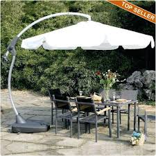 Offset Patio Umbrella With Base Idea Offset Patio Umbrella With Base And Crossover Stand Base