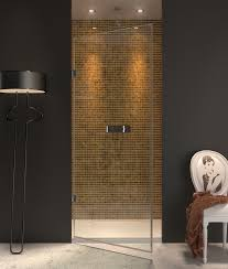 Single Frameless Shower Door Adorable Frameless Single Shower Doors And Frameless Shower