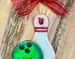 keepsake bowling rings bowling ornaments etsy