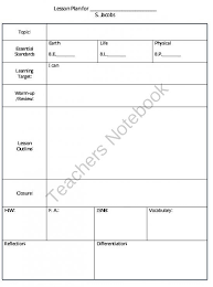 freebie the simply scientific classroom teachers notebook a daily
