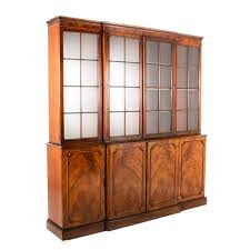 French Antique Bookcase French Antique Walnut Bookcase Circa 1920 For Sale At 1stdibs