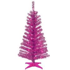 pink christmas tree pink christmas trees you ll wayfair