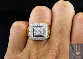 mens diamond engagement rings rings for men in gold and diamond