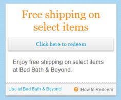 Bed Bath And Beyond Shipping Chap 16 Example Of Consumer Oriented Sales Promotion Technique