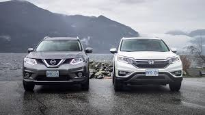 nissan canada legal department comparison test 2015 honda cr v vs nissan rogue autotrader ca