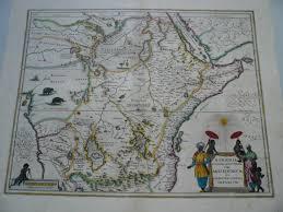 Map Book Rare Old Antique Maps Central Africa Virtual Antique U0026 Rare Art