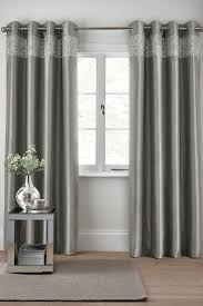 Light Silver Curtains Light Gray Curtains Asda Showy Silver Bedroom Curtain Best Images