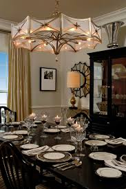 RoundcandlechandelierDiningRoomTraditionalwithdiningtable - Traditional chandeliers dining room