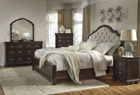 Larimer Upholstered Bedroom Set Bedroom Kira King Ashley Furniture Sleigh Bed With Storage For