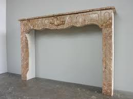 antique fireplace marble louis xv xviiith c c 1064
