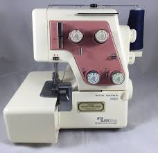 janome domestic overlocking machine tutorial sewing pinterest