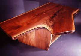 Custom Coffee Tables by Rustic Walnut Crotch Slab Custom Coffee Table By Dumond U0027s