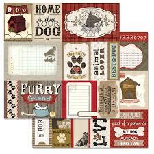 Dog Scrapbook Album Carolee U0027s Creations Adornit Hound Dog Cut Apart Paper