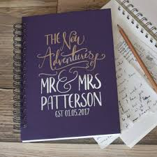 wedding gift book personalised wedding gift memory book by so they made