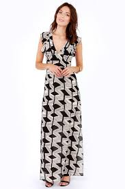 fancy maxi dresses print dress maxi dress black dress 75 00