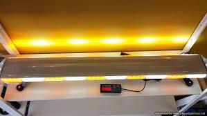 warning light bar amber 48 slim warning emergency rooftop lightbar limited qty canada 1