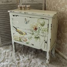 hand painted bedroom furniture cream chest of drawers painted bedroom furniture french shabby