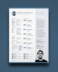 Free Resumes Templates To Download Free Resume Is A One Page Resume Template You Can Download For