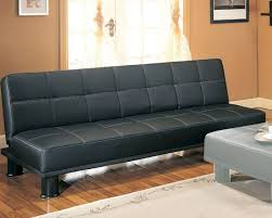 living room click clack sofa with storage in black futon comfy â