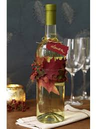 wine as a gift fall decoration for wine bottle as gift pictures photos and