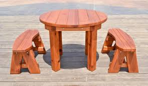 Round Table Patio Dining Sets - patio amusing round wood patio table round wood patio table