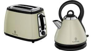 Russell Hobbs Kettle And Toaster Set Russell Hobbs 1 8 Litre Cream Heritage Kettle 18256 U0026 2 Slice