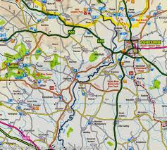 Sheffield England Map by Map Of Peak District U0026 Derbyshire England Ordnance Survey