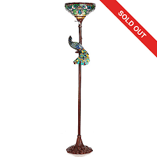 Stained Glass Floor Lamp Tiffany Style 68