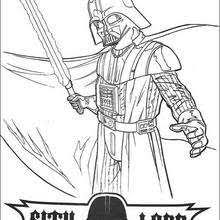 mask darth vader coloring pages hellokids