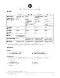 pre k phonics u0026 spelling lesson plans u2014 lesson plan ladies