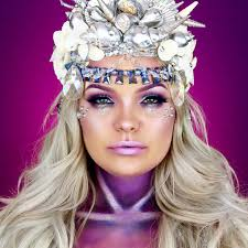 kryolan halloween makeup transform into a mermaid with this ghoulish glam halloween makeup