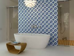 10 gorgeous ways to do patterned tile in the bathroom walls