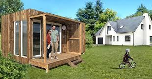 bureau de jardin en kit greenkub extension de maison et studio de jardin