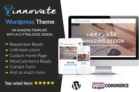 colors home page innovate wordpress theme wordpress business themes creative market