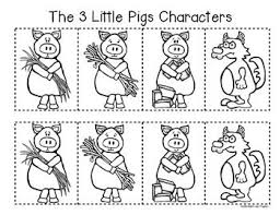 characters pigs pigs retelling story