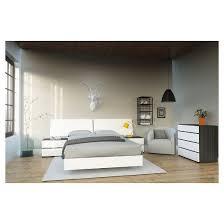 Target Platform Bed Acapella Platform Bed White Full Nexera Target