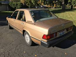 1984 gold mercedes 190e 2 3 liter price drop mercedes benz