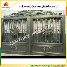 alibaba china simple iron pipe gate design gate grill fence design
