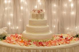 How to Decorate a Wedding Cake Table Decoration Ideas