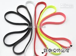 elastic hair bands sport hair band mixed color football non slip hair band men women