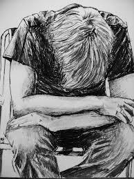 pencil sketches of sad love angels drawings angel pencil sketcha