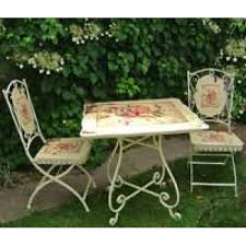 Shabby Chic Patio Decor by Brilliant Shabby Chic Garden Table And Chairs 59 Concerning