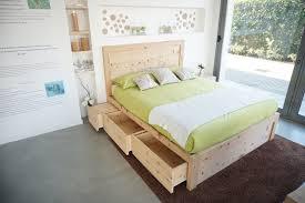 letto cassetti legno di cirmolo letto matrimoniale con 6 cassetti letti e