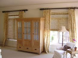 bamboo window shades lowes roll up patio doors image collections